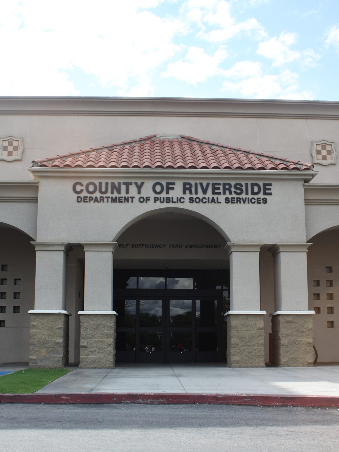 A Riverside County Department of Public Social Services