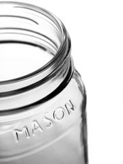 Mason jars are the perfect vessel for a grab-n-go healthy