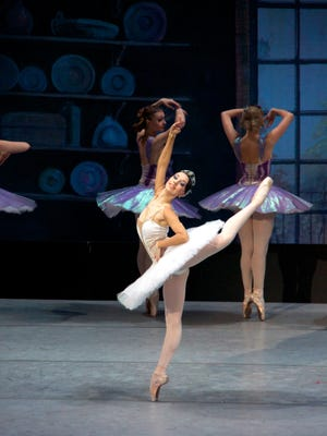 Cinderella, performed by the Russian National Ballet Theatre, at ASUMH's Vada Sheid's Ed Coulter Performing Arts Center on Wednesday, April 19.