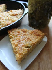 "Jalapeno Cornbread from ""Magnolia Table."""