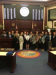 On the 3rd Florida Advocacy Day in Tallahassee, Florida State Advocates represented the five chapters of the Cystic Fibrosis Foundation in Florida.