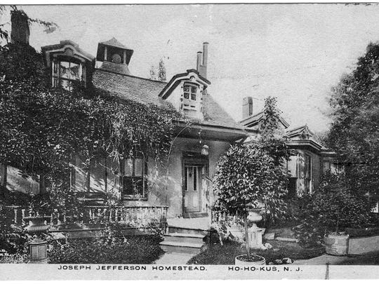 Jefferson's home at 933 E. Saddle River Road in Ho-Ho-Kus