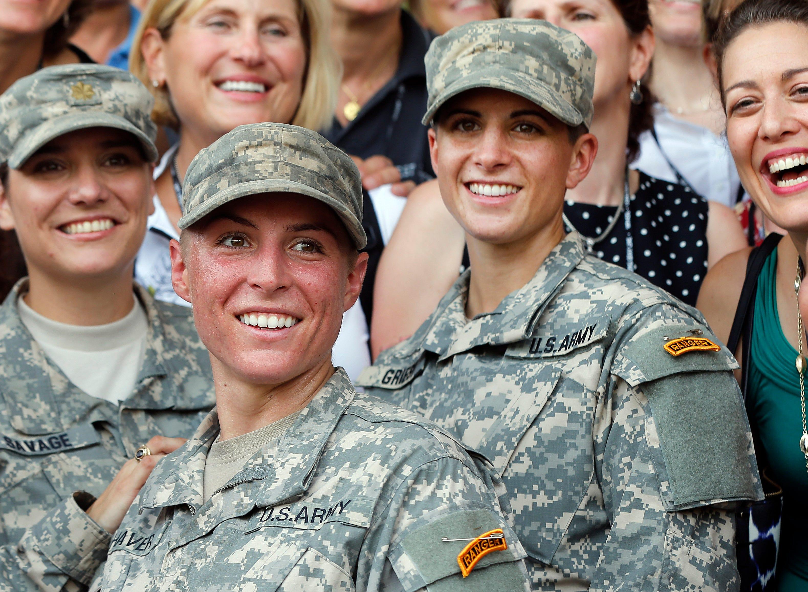 Military females exposed