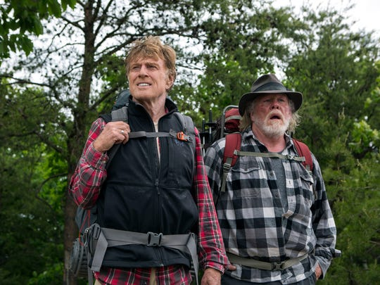 Robert Redford and Nick Nolte star in 'A Walk in the