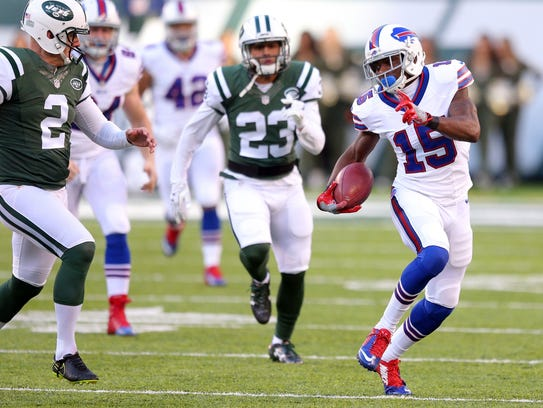 Buffalo's Brandon Tate made an impact on special teams,