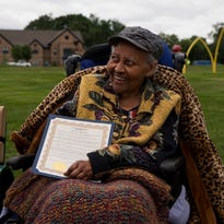 Bench dedicated to local Civil Rights leader