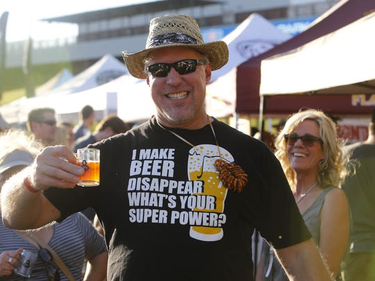 Patrons get a souvenir cup and 24 tasting tickets at the Great Arizona Beer Festival, happening April 2 at Sloan Park.