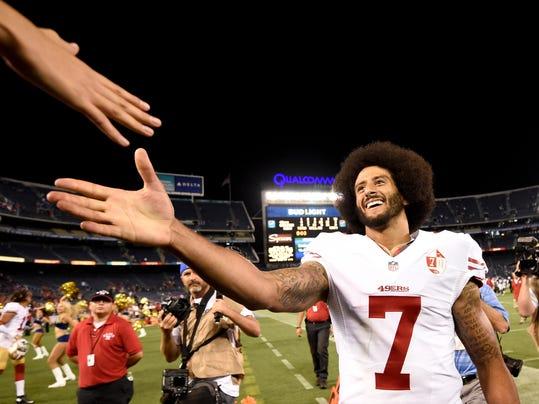 49ers Keep Colin Kaepernick As Backup Qb To Blaine Gabbert