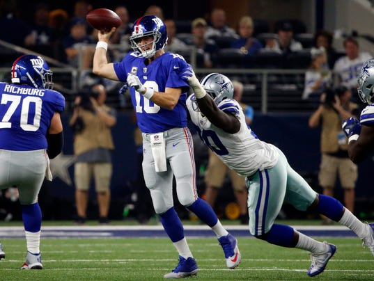 Eli Manning, DeMarcus Lawrence