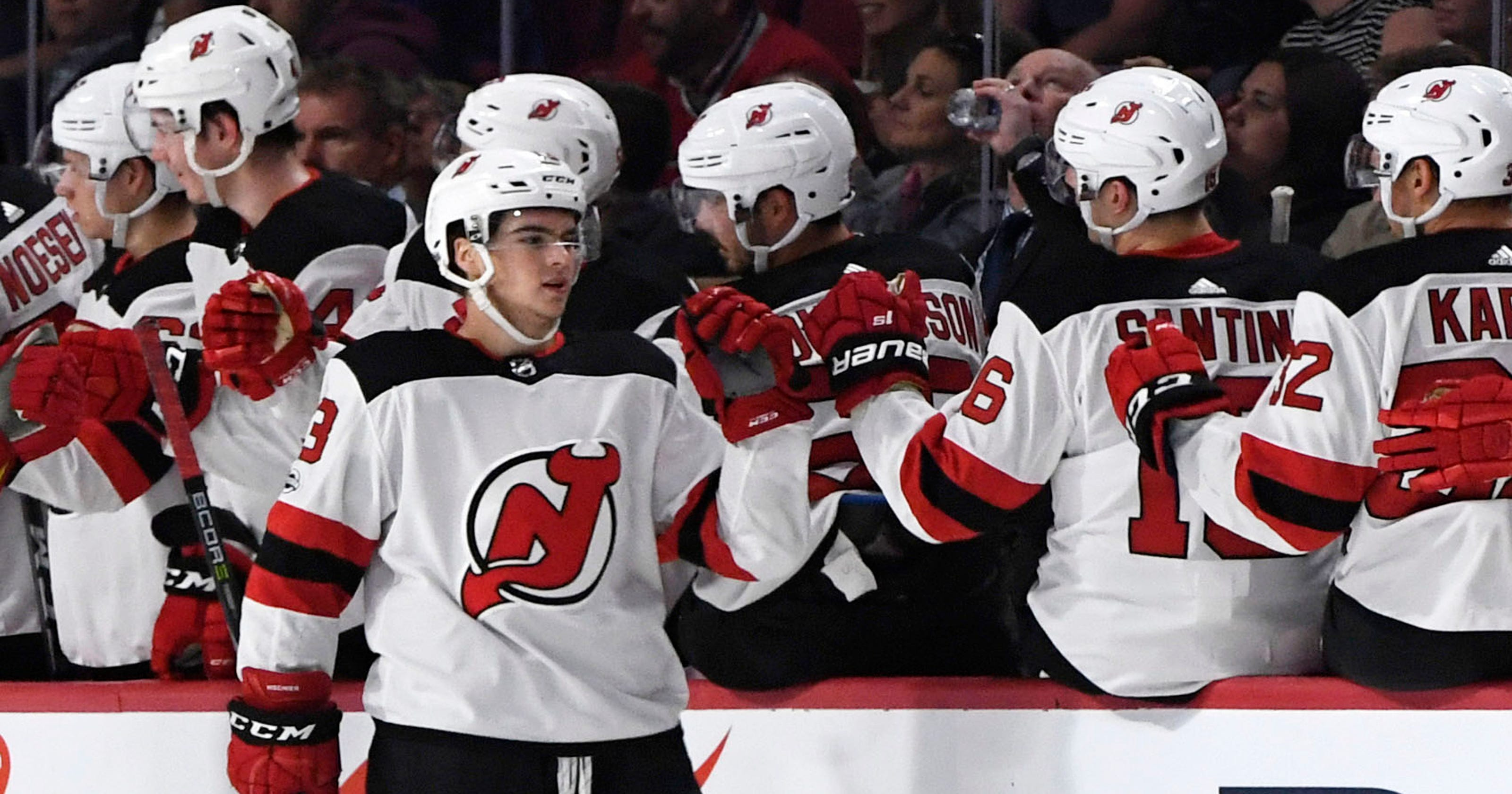 3c8ad0ea0 How Devils are splitting squad for Monday s games