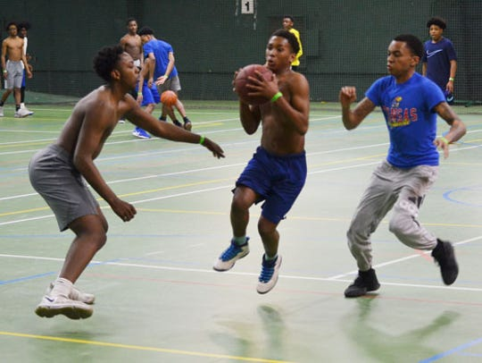 The Midnight Basketball program is designed to give