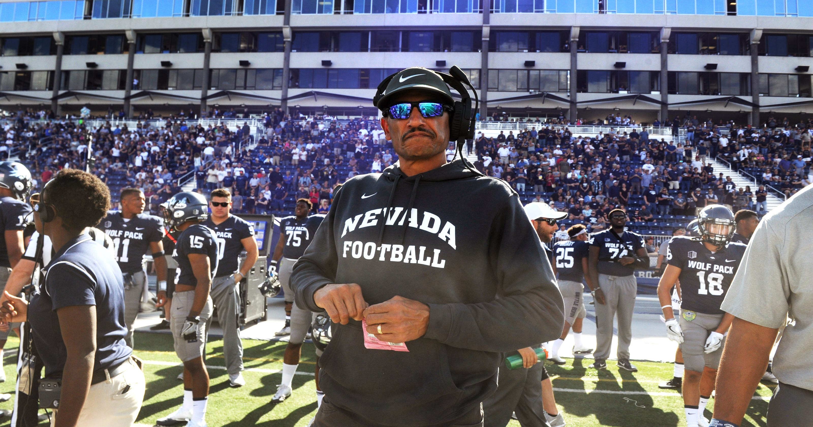 37ada58b4 Nevada Football  Huge roster turnover shows this is Jay Norvell s team