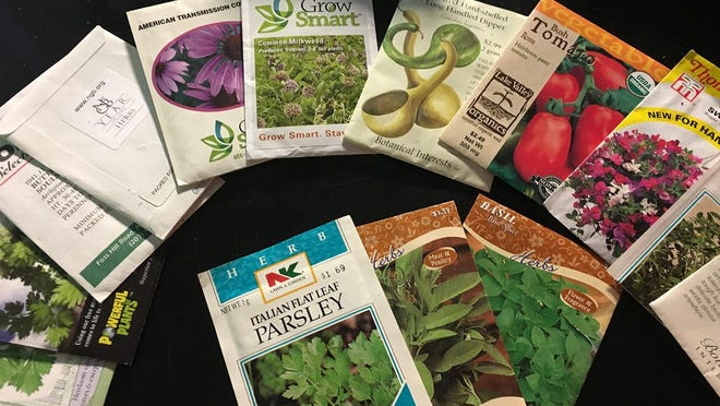 Mix it up and be sure to include a diversity of vegetables, flowers and herbs when choosing seeds.
