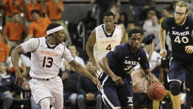 Backup point guard Brandon Randolph was pressed into action when Dee Davis fouled out. Randolph finished with five points, three points, three steals, two assists and one turnover in 35 minutes.
