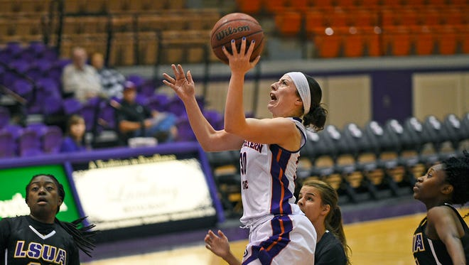 Northwestern State's Beatrice Attura has been named the 2016-17 Southland Conference Women's Basketball Student-Athlete of the Year.