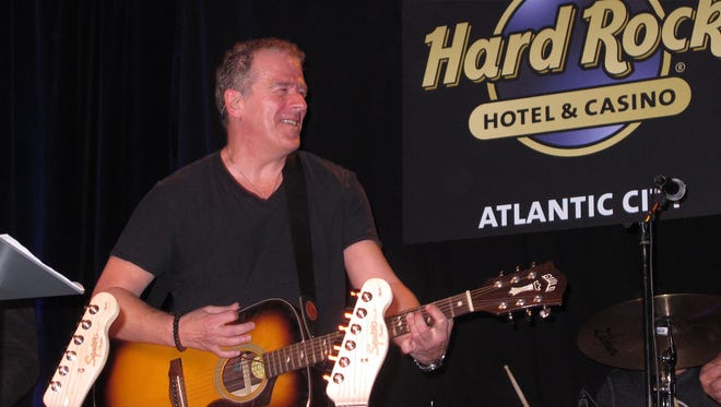 A Bruce Springsteen tribute band plays at the Hard Rock Cafe in Atlantic City N.J. Hard Rock CEO Jim Allen says his company's new casino opening this summer in Atlantic City will offer over 200 nights of live music in its first year of operation.
