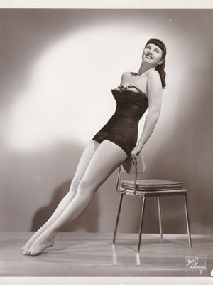 Rita Meyer, at age 24, when she was dancing professionally.