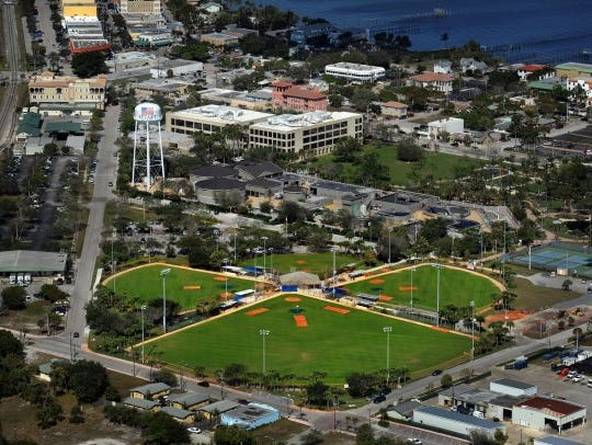 The city-owned 10.8 acre Sailfish Park is just southeast of the Martin County courthouse complex near downtown Stuart.