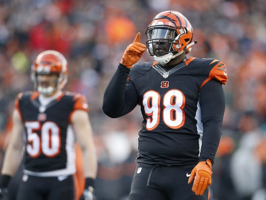 Brandon Thompson rotated with Pat Sims whether active or inactive this season. The Bengals will likely pick between the two in free agency.