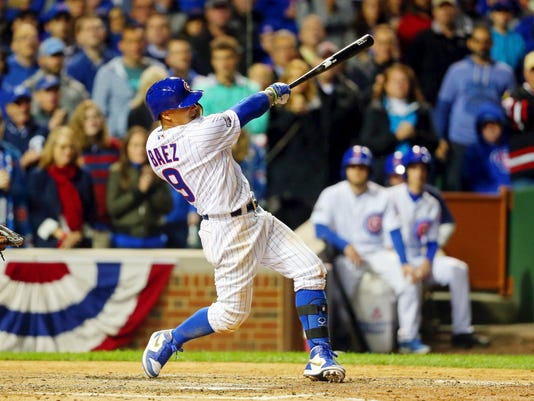 USP MLB: NLDS-SAN FRANCISCO GIANTS AT CHICAGO CUBS S BBN USA IL