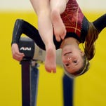 Rocky Mountain High School's Aidan O'Connell is one of the key returning athletes for the Lobos gymnastics team.