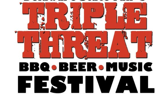 Delaware State Fair's Triple Threat BBQ, Beer & Music Festival runs Friday and Saturday in Harrington.