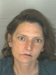 Suspect Amber Lynn Crank was arrested Friday in relation to the Kathy's Kandies robbery.