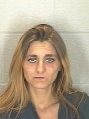 Desiree Davis was arrested on methamphetamine-related charges Wednesday.