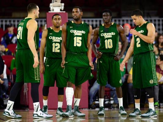 NCAA Basketball: Colorado State at Denver