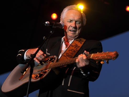 Musician Mel Tillis performs onstage during 2011 Stagecoach: California's Country Music Festival at the Empire Polo Club on April 30, 2011, in Indio, Calif. Tillis, the longtime country star who wrote hits for Kenny Rogers, Ricky Skaggs and many others, and overcame a stutter to sing on dozens of his own singles, has died. A spokesman for Tillis, Don Murry Grubbs, said Tillis died early Sunday, Nov. 19, 2017, at Munroe Regional Medical Center in Ocala, Fla. He was 85.