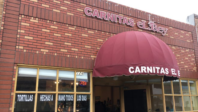"Carnitas el Rey is one of two Oxnard restaurants to make it through the first two rounds of a sports-themed tortilla tournament organized by public radio station KCRW and ""Taco USA"" author Gustavo Arellano."