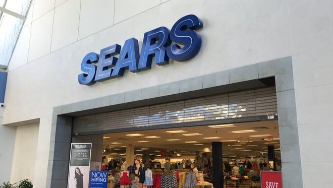 The Sears store at Paramus Park mall. Paramus NJ