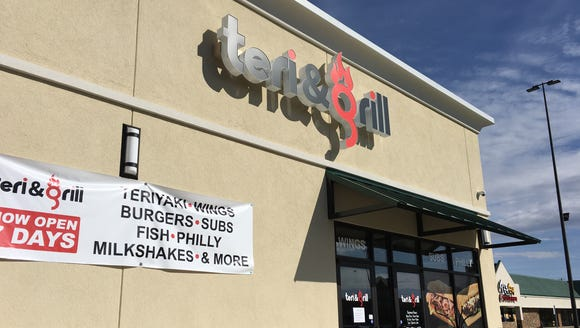 The new Teri & Grill is open seven days a week on East
