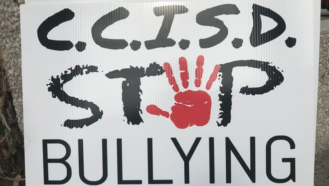 The Facebook page named Stop Bullying in CCISD was created last week by family members of two South Park Middle School students.