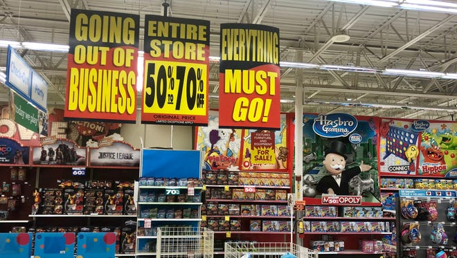 Prices were marked down at the Toys R Us in Jensen Beach, Fla. on June 11.