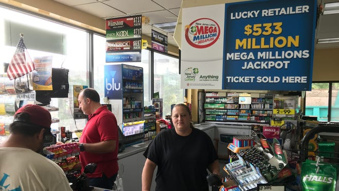 Can lightning strike twice in one place? Lottery ticket-buyers sure hope so as flock to the Lukoil gas station in Riverdale where a previous $523 million ticket was sold.