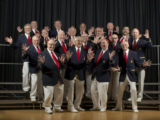 "Multi-generational, all-male a cappella Chorus of the Atlantic will perform ""Oh, Those '60s"" in Ocean Township."
