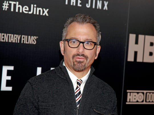 "In this Jan. 28, 2015 photo, director Andrew Jarecki attends the HBO documentary series premiere of ""The Jinx: The Life and Deaths of Robert Durst"" in New York City."