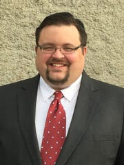 Chris Burros, a Libertarian running in the 132nd District