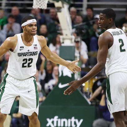 Michigan State's Bridges, Jackson await NBA Draft fate