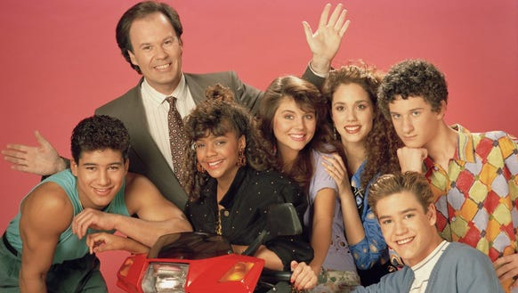"""The cast of """"Saved by the Bell."""""""