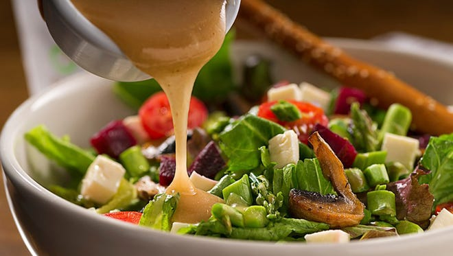 It's quick and easy to make your own salad dressing.