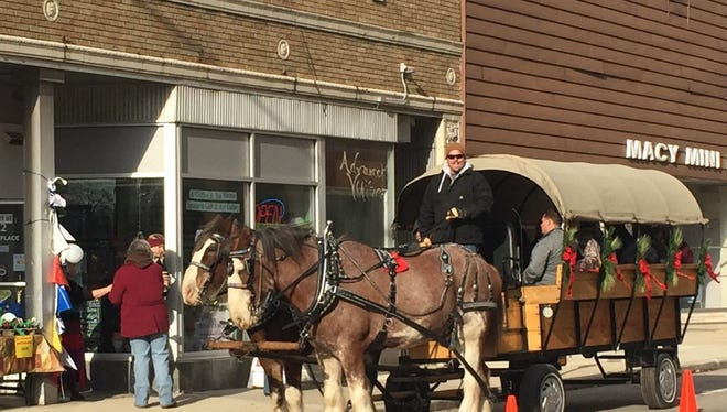 Tim Wiskow will return to offer rides in downtown Fond du Lac on Dec. 10 from 11 a.m. to 3 p.m.