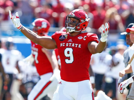 North Carolina State defensive end Bradley Chubb took an official Top 30 visit to the New York Giants last week.