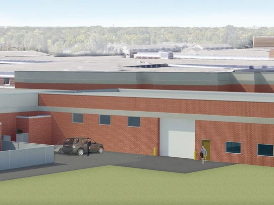Fond du Lac High School ACE (Architecture, Construction, Engineering) facility rendering.