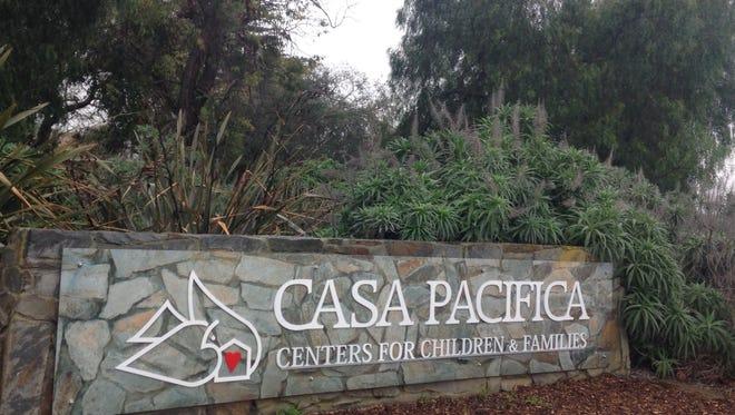 The Casa Pacifica complex is located outside Camarillo.