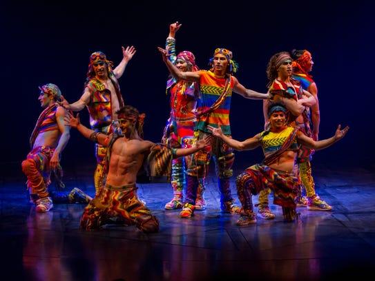 "Cirque Du Soleil's ""Volta"" show. Costumes by Zaldy"