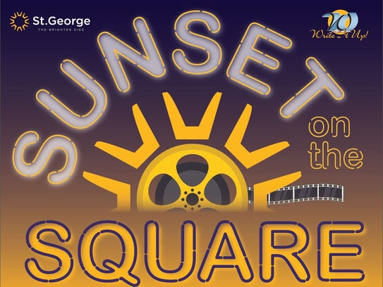Sunset on the Square.