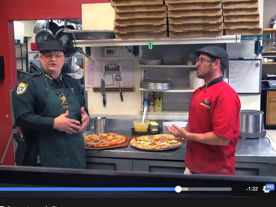 Brevard County Sheriff Wayne Ivey now hosts a cooking