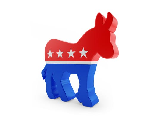 High Quality Render of Democratic Party Logo
